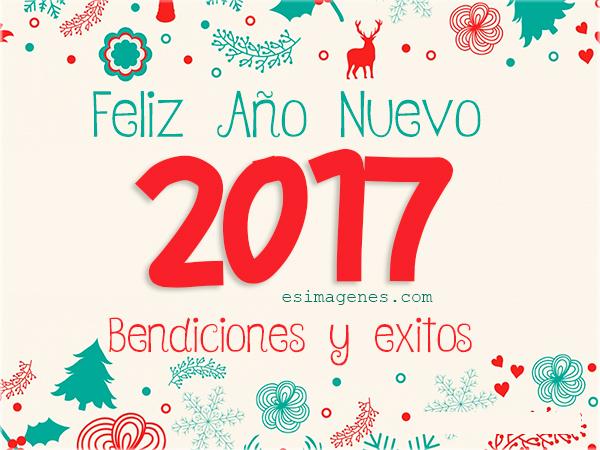 Tarjetas Postales de Feliz Año Nuevo 2017