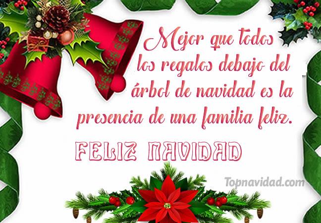 Bonitas mensajes para felicitar en navidad