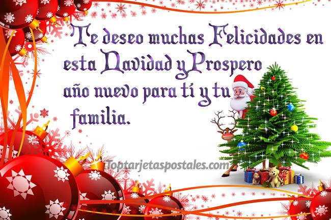 Frases cortas para felicitar en navidad y año nuevo