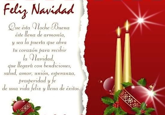 Frases de feliz navidad para compartir gratis