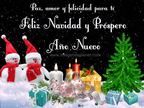 Imágenes de Feliz Navidad y Prospero Año nuevo para compartir
