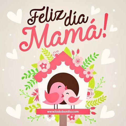 Imágene con frases de Feliz día mama