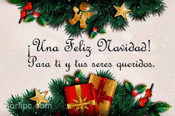 Mensajes cortos de feliz navidad