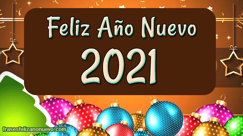 Felicitaciones de año nuevo 2021 para compartir gratis