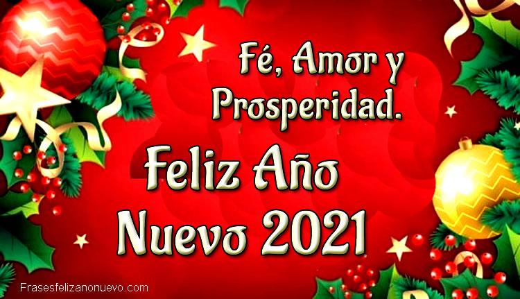 Felicitaciones de año nuevo 2021 para descargar