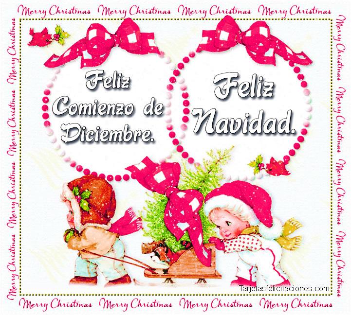 Felicitaciones de mes Diciembre