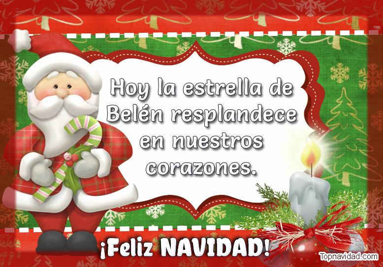 Felicitaciones para saludar en navidad GRATIS