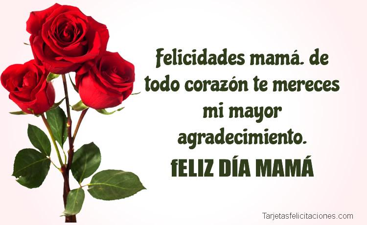 Felicitaciones para el día de la Madre