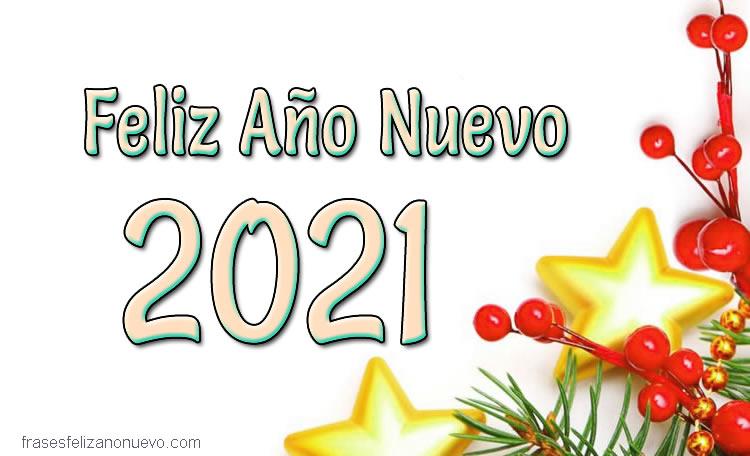 Tarjetas Feliz Año Nuevo 2021 Para regalar