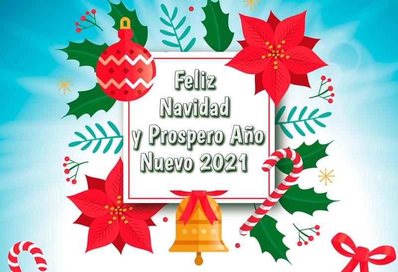 Feliz Navidad y Prospero Año Nuevo 2021