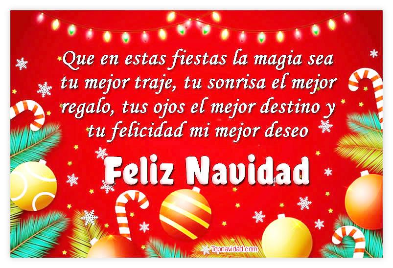Feliz navidad tarjetas virtuales para felicitar