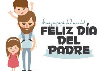 Imágenes con frases para decir feliz día del padre