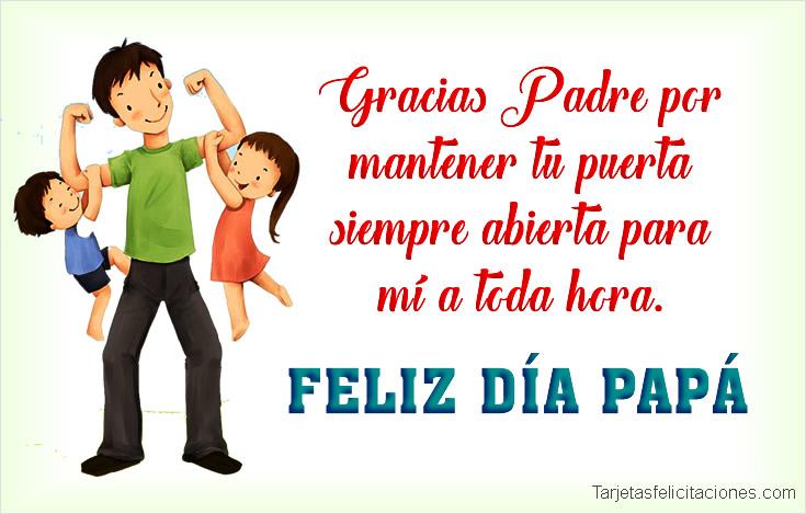 Tarjetas Postales para Felicitar el día del padre