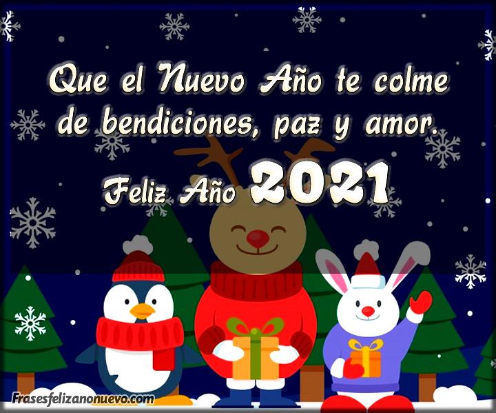 Felicitaciones bonitas para Año Nuevo 2021