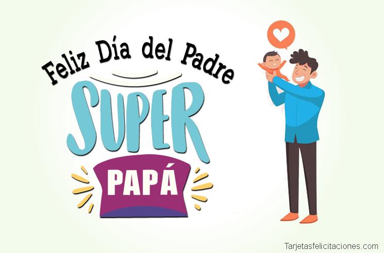 tarjetas postales para regalar el día del padre